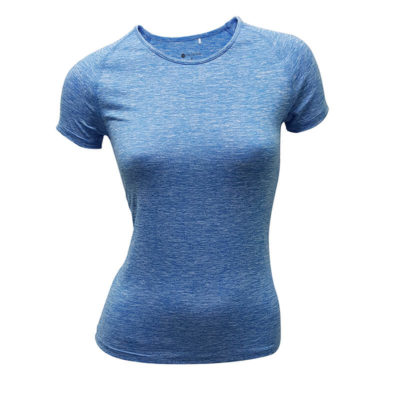 TR Slim Fit Tee Blue Front