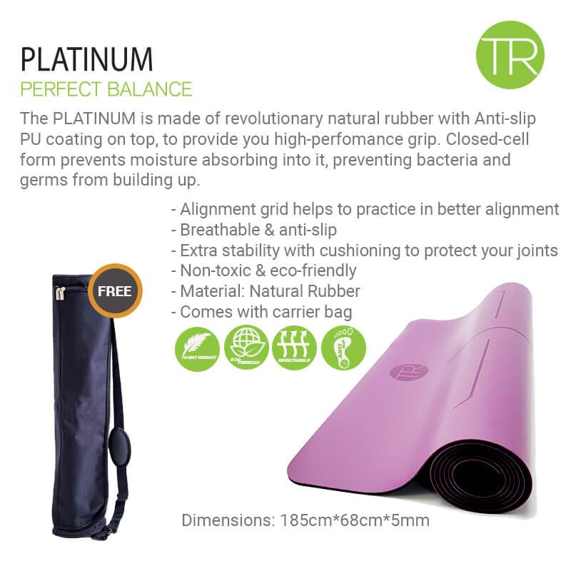 Yoga mat - Natural Rubber - Introduction