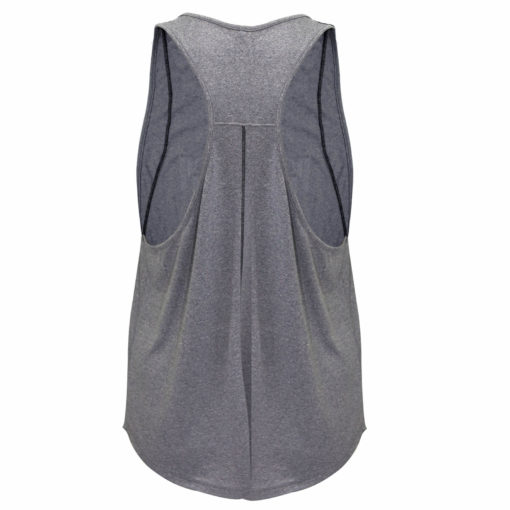 TR008T-Tank- Stop When You're Done-Heather Grey-Back