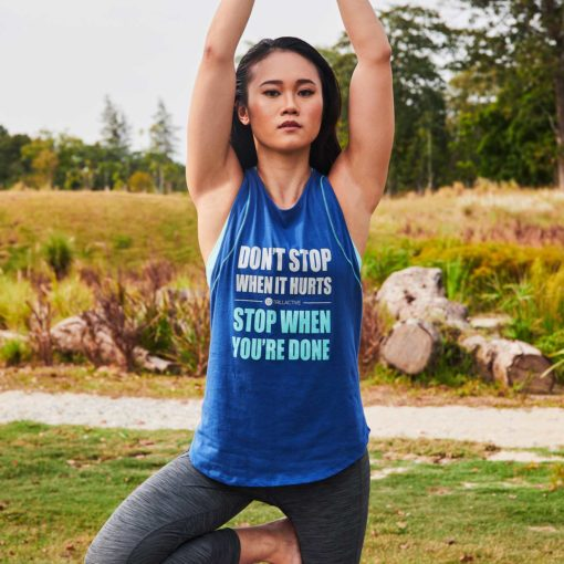 Yoga Tank - Stop When You Done
