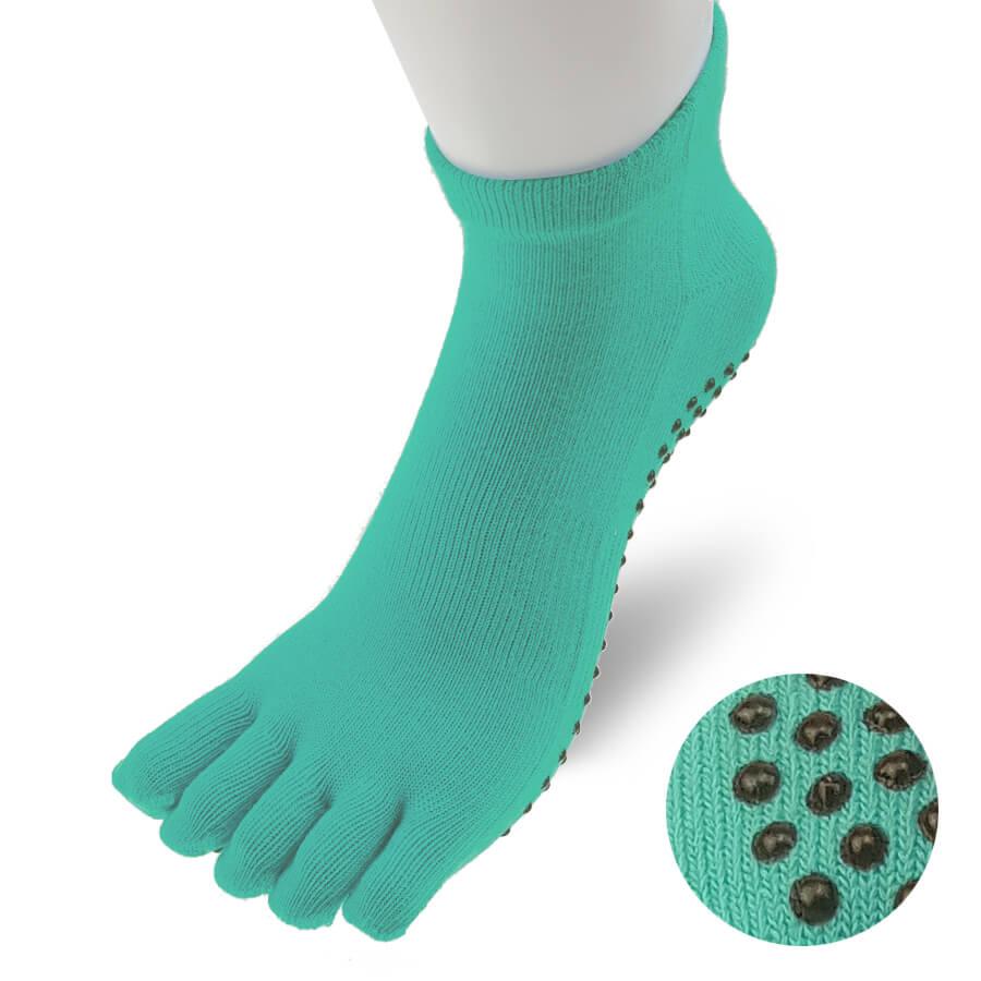 TR024SOCK-Yoga-Sock-Women-Blue