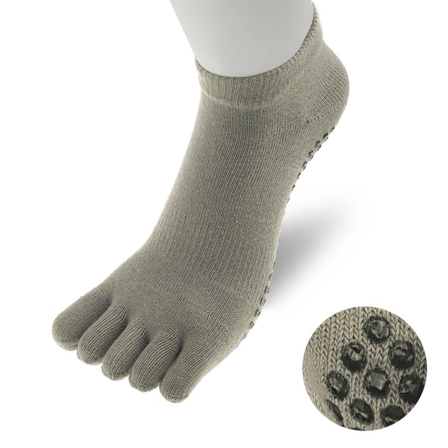 TR024SOCK-Yoga-Sock-Women-Grey