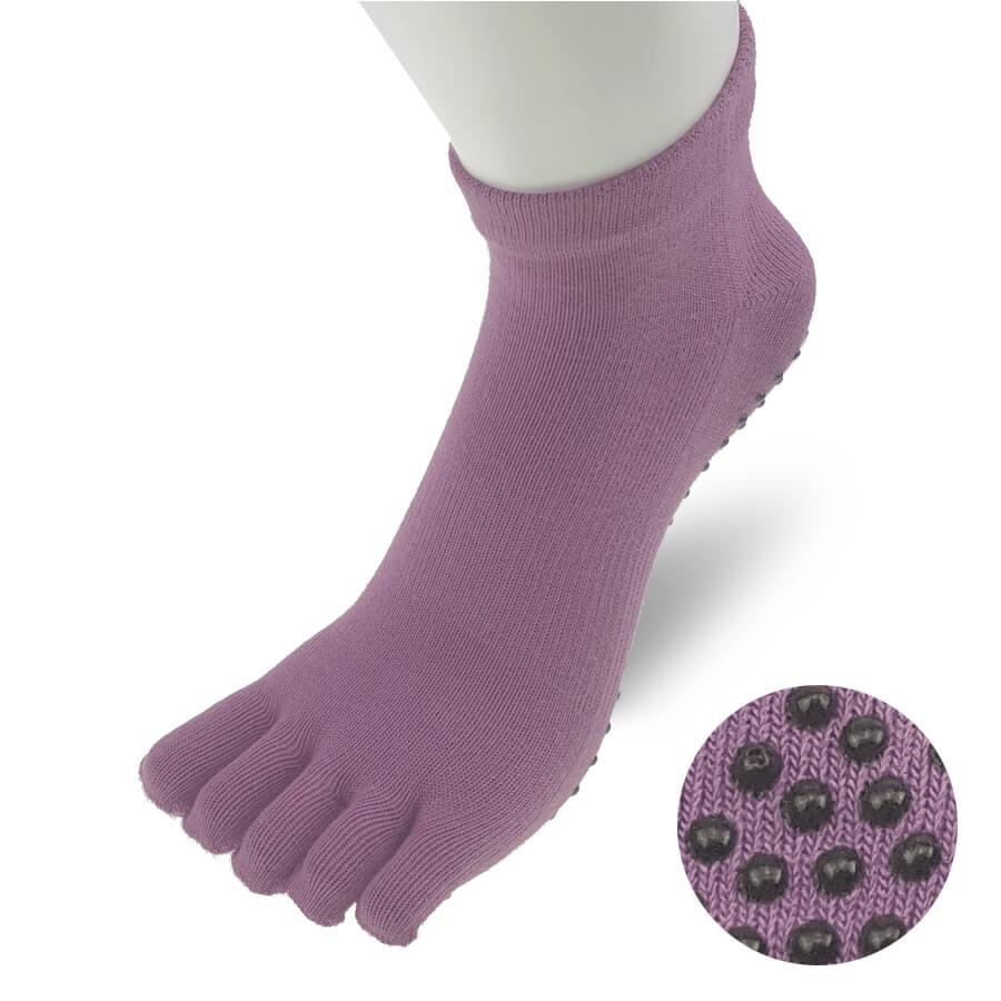 TR024SOCK-Yoga-Sock-Women-Purple