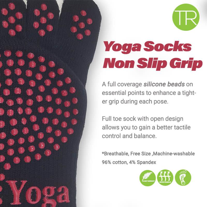 Yoga Toe Sock Non Slip