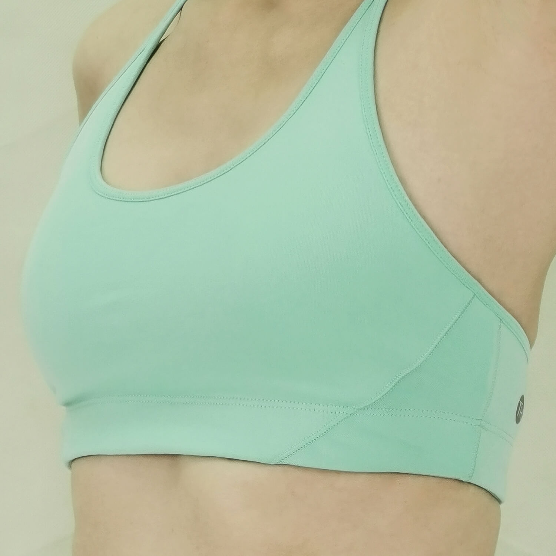 Yoga Sport Bra - Braided Bra -Light Turquoise