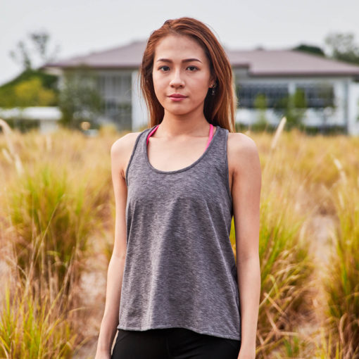 TR060GY - Training Tank Grey Front
