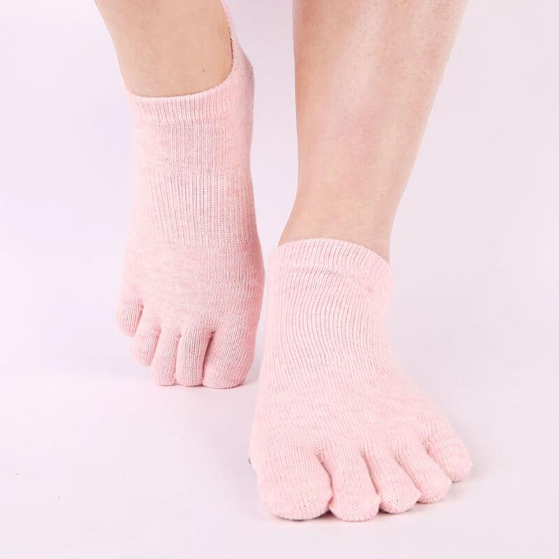 Anti Slip Yoga Sock Pink