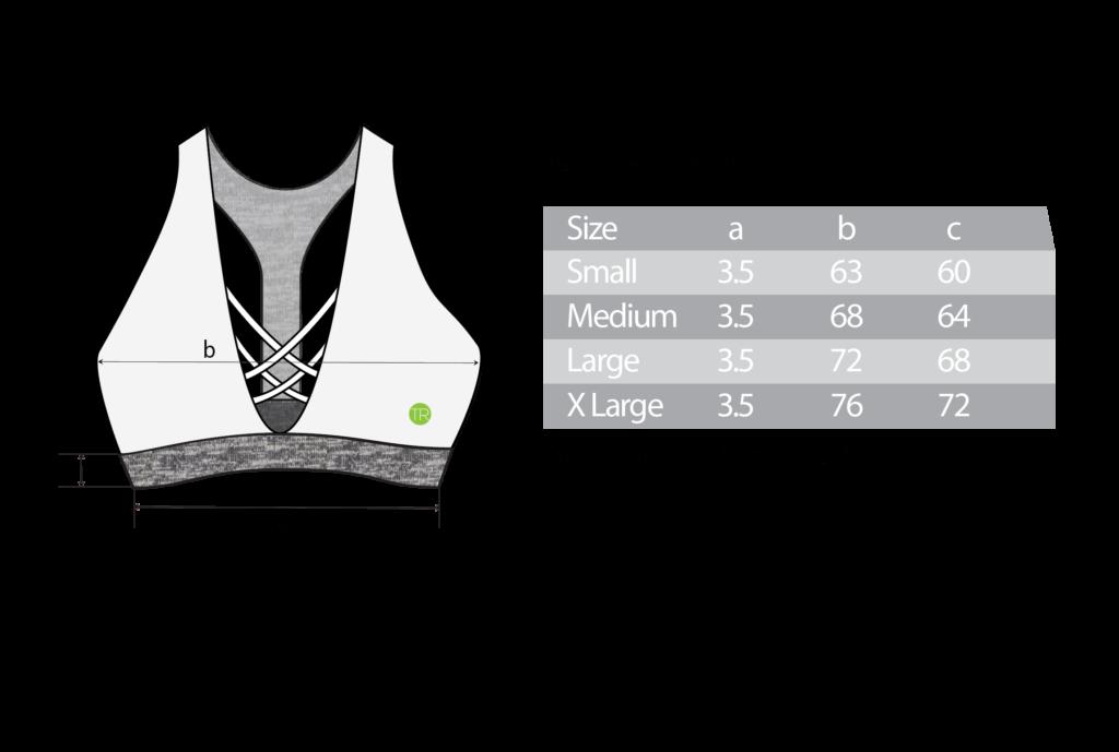 TR092B -size chart