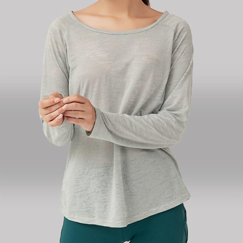 Yoga Long Tee - Pulled Over Long Sleeve