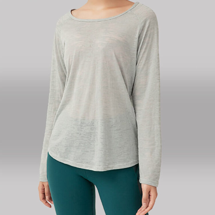 Yoga Long Tee - Pulled Over Long Sleeve