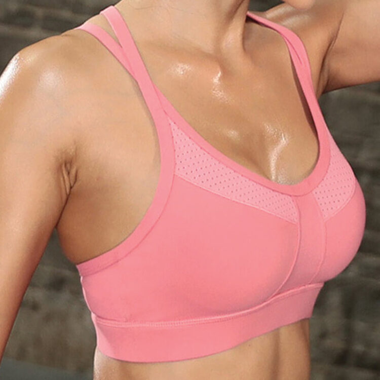 Yoga bra- Sweetheart Sports Bra