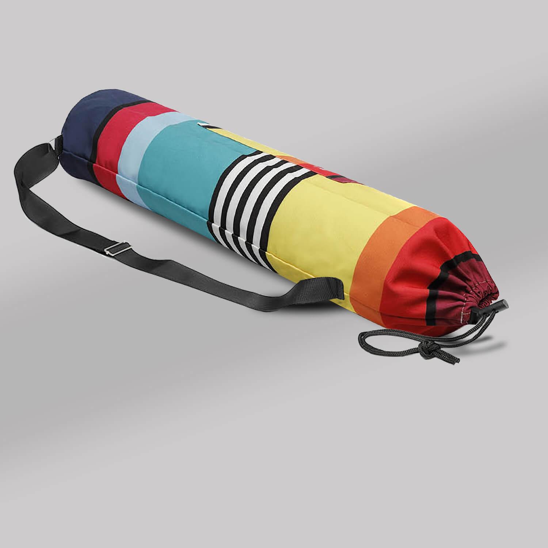 Yoga mat bag (Draw String) - Multi