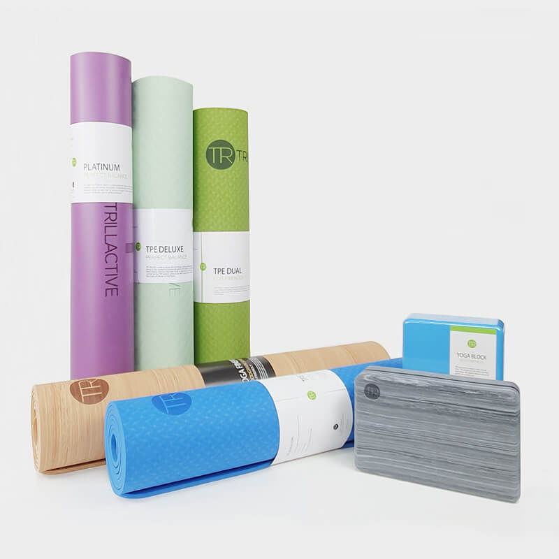 Yoga mat - TPE Deluxe