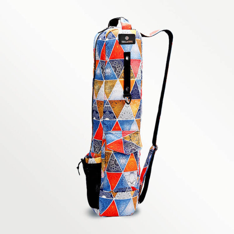Yoga Mat Bag -Tribal Print