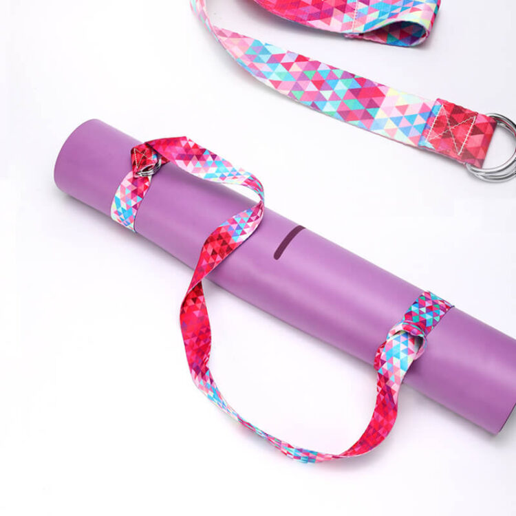 TR Yoga Strap Strap On Mat