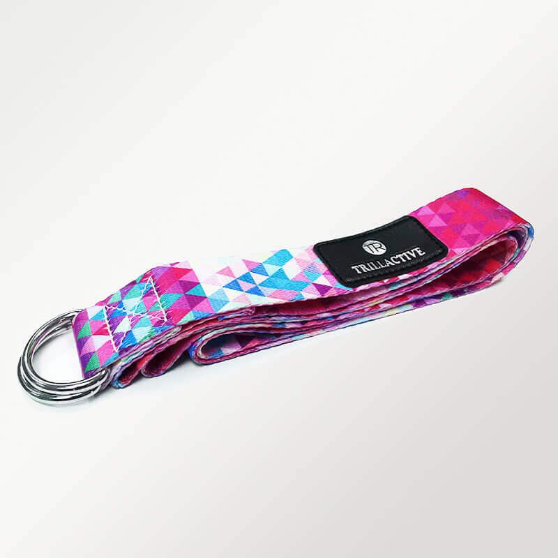 TR Yoga Strap - Pink Print