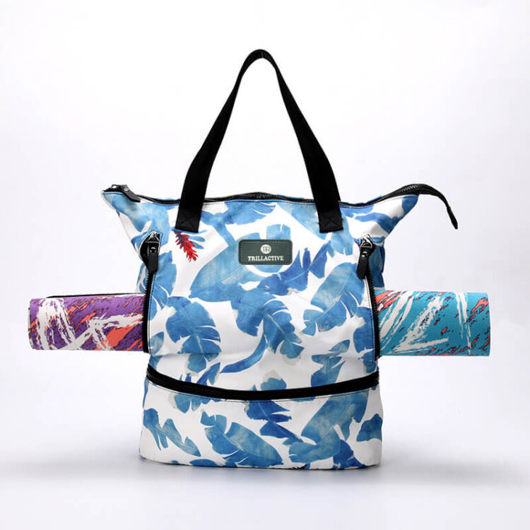Yoga Tote Bag With Yoga Mat