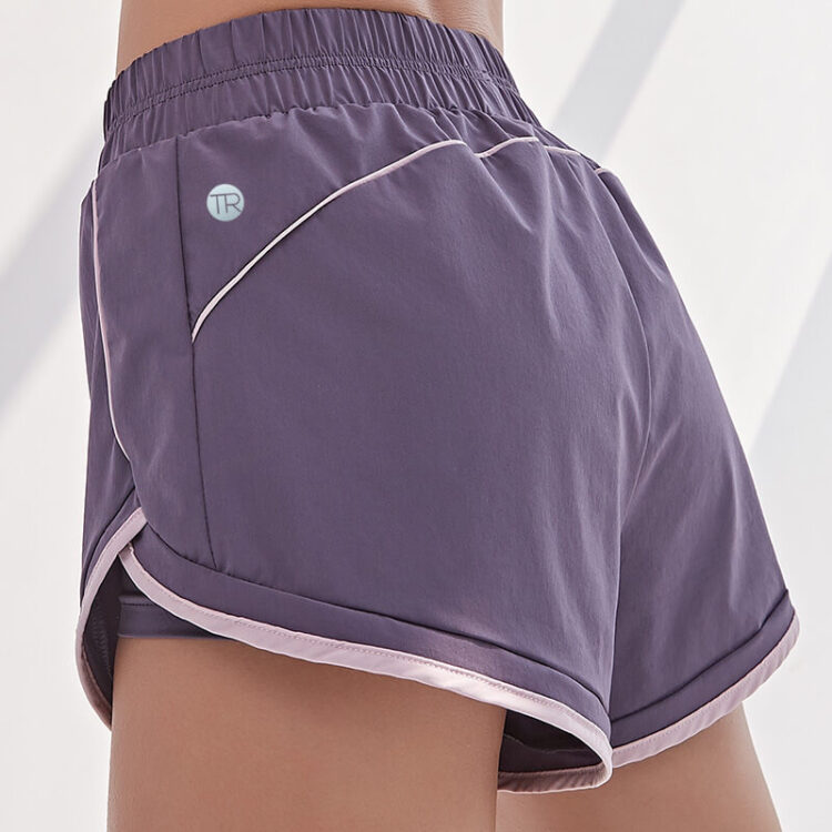 running shorts with tights